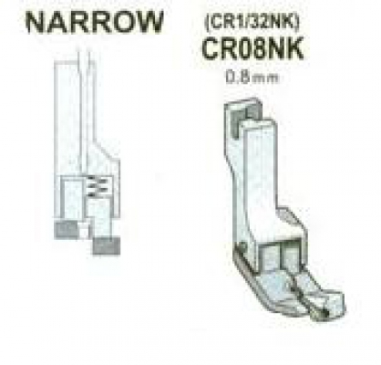 CR08NK (CR 1/32NK) Stopka 0,8 mm