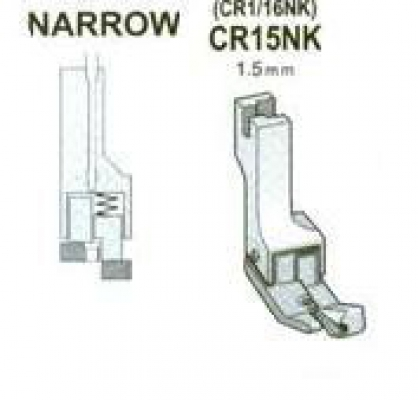 CR15NK (CR1/16 NK) Stopka 1,5 mm